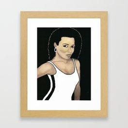 "SOULANAUTS:  "" BOSSY BABE"" Framed Art Print"