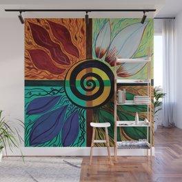 Four Seasons of Eternity  Wall Mural