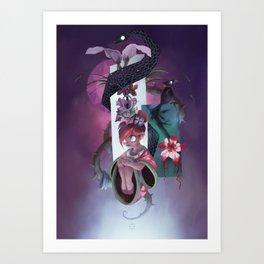 The Dreamteller of Sleeparalysis Art Print