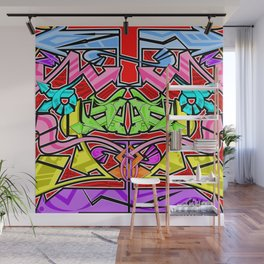 Abstract Arrows Wall Mural