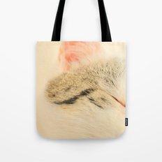 Peachy Kitty Tote Bag
