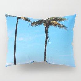 palm beach couple Pillow Sham