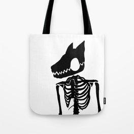 Nuclear Jackal (Design 1 Version 2) Tote Bag