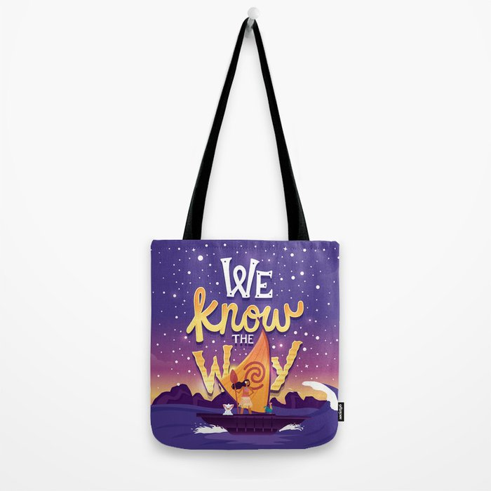 We know the way Tote Bag