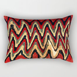 Ancient Peruvian Coca Bag Print Rectangular Pillow