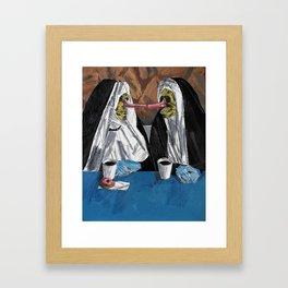 Propaganda by the deed. Framed Art Print