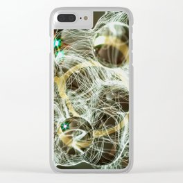 overflow Clear iPhone Case