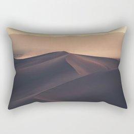 Poetic Sand Mountains Desert (Color) Rectangular Pillow