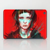 large iPad Cases featuring Wasp by Alice X. Zhang