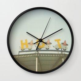 Hot Wall Clock