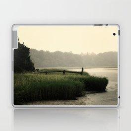 Rain on a summer day on Long Island Laptop & iPad Skin