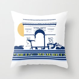 Paris - Roubaix Throw Pillow