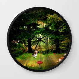 The Race. Wall Clock
