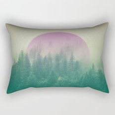 Orchid Vibes Forest Rectangular Pillow