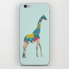 Patchwork Giraffe iPhone Skin
