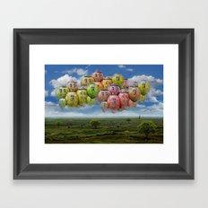 Himmelsreisen ! Framed Art Print