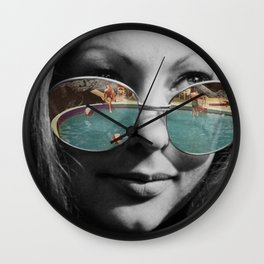 The Pool Wall Clock