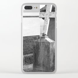 old cross Clear iPhone Case
