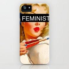 Feminist Slim Case iPhone (5, 5s)