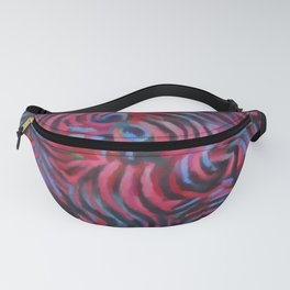 Abstract #1 Pink Fanny Pack