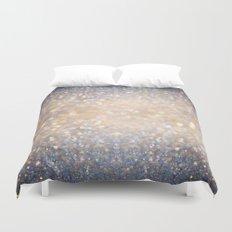 Glimmer of Light (Ombré Glitter Abstract) Duvet Cover