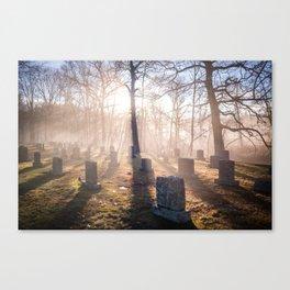 Prospect Hill Cemetery Canvas Print