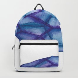 Blue Purple Crystal Backpack
