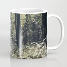 Woods Woodland Forest Trees Green Nature Ferns Mountain Photography Coffee Mug