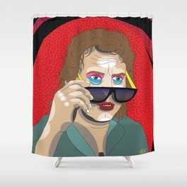 All Outta Bubblegum Shower Curtain