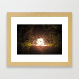 Spider Monster Framed Art Print