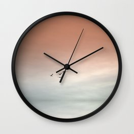 Flight of the Swans Wall Clock