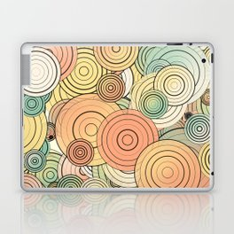 Layered circles Laptop & iPad Skin