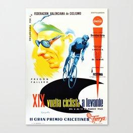 La Vuelta 1960 Canvas Print