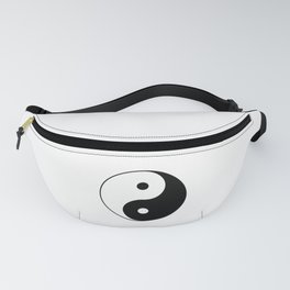Yin Yang Taijitu Symbol Fanny Pack