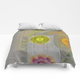 Quaternary Strategy Flowers  ID:16165-142241-78321 Comforters