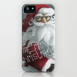 modern christmas iPhone Case