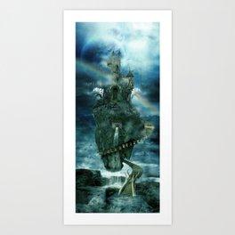 Isle of disenchantment Art Print