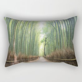 Arashiyama Bamboo Forest Rectangular Pillow