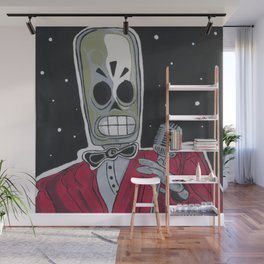 The Entertainer Wall Mural