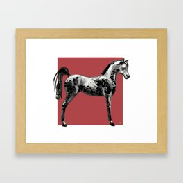 'Grey Horse' Framed Art Print