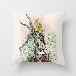 HEROIN Throw Pillow
