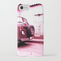 vw bus iPhone & iPod Cases featuring VW Bus 17B by Julia Aufschnaiter
