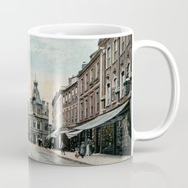 Fore Street Tiverton Devon 1890s Coffee Mug