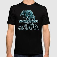 UNDERGROUND LIFE MEDIUM Black Mens Fitted Tee