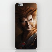 thundercats iPhone & iPod Skins featuring ThunderCats Collection - Tygra by fabvalle