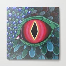 Acrylic Dragon Eye Metal Print