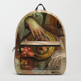 """Doll house Belly"" Backpack"