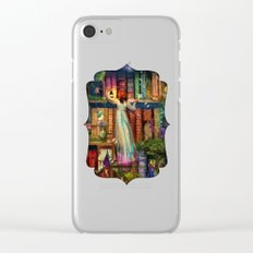 Whimsy Trove - Treasure Hunt Clear iPhone Case