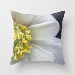 Anemone Macro Throw Pillow