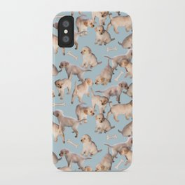 Too Many Puppies iPhone Case